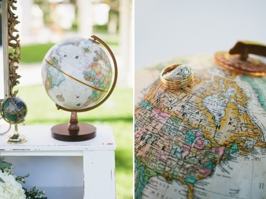 alternative globe guestbook idea