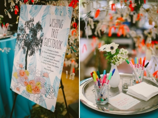 wish tree guestbook
