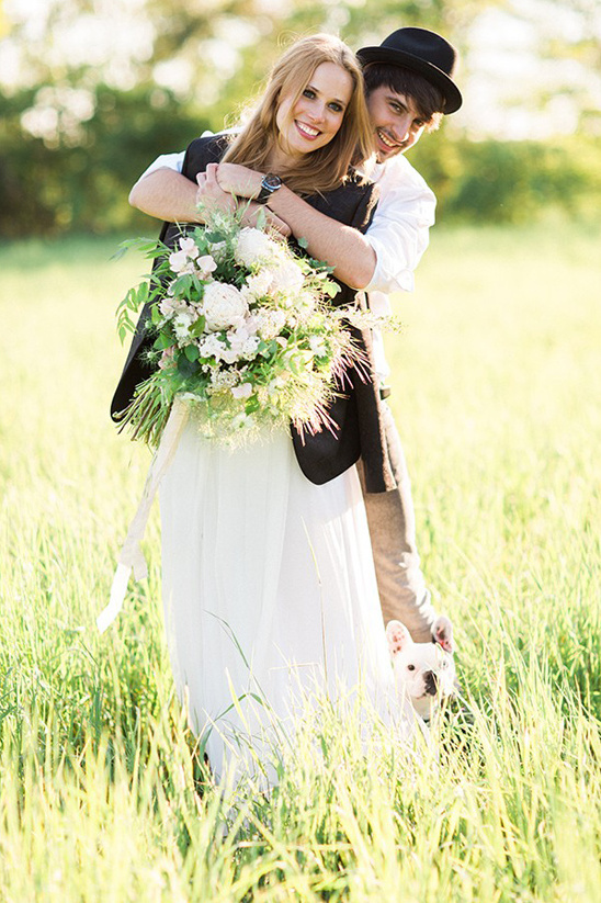cute and casual wedding photography