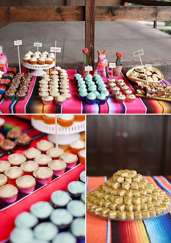 assorted desserts table