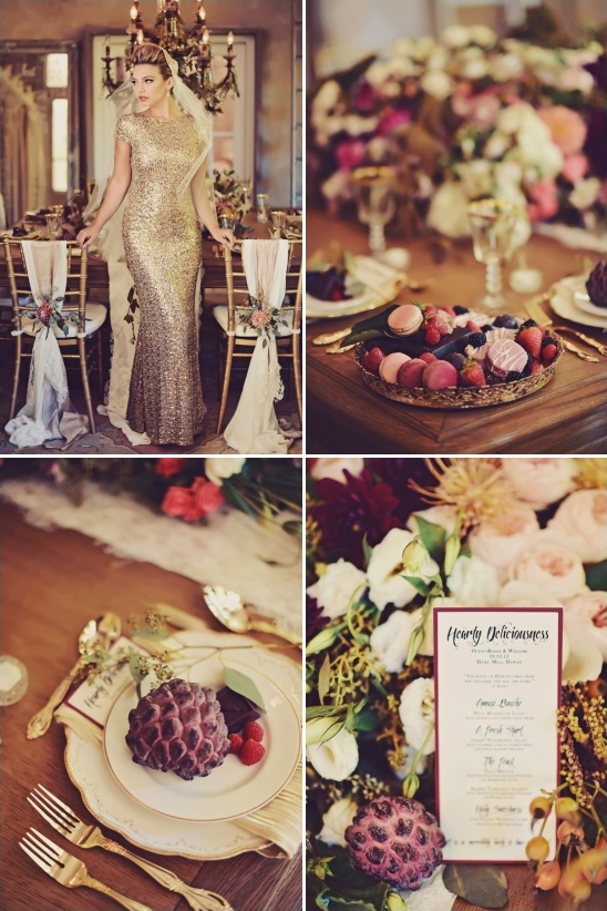 fall harvest wedding decor