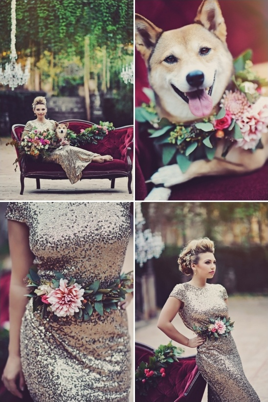 floral dress accessory