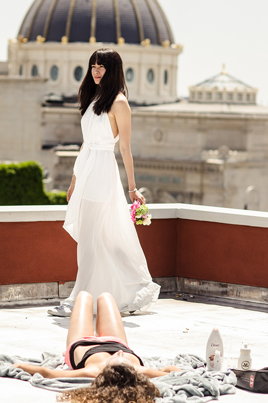 New York Roof Top Wedding