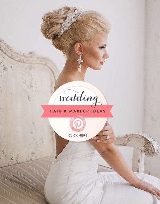 Hair And Makeup Wedding Ideas