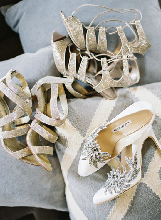 strappy wedding sandles