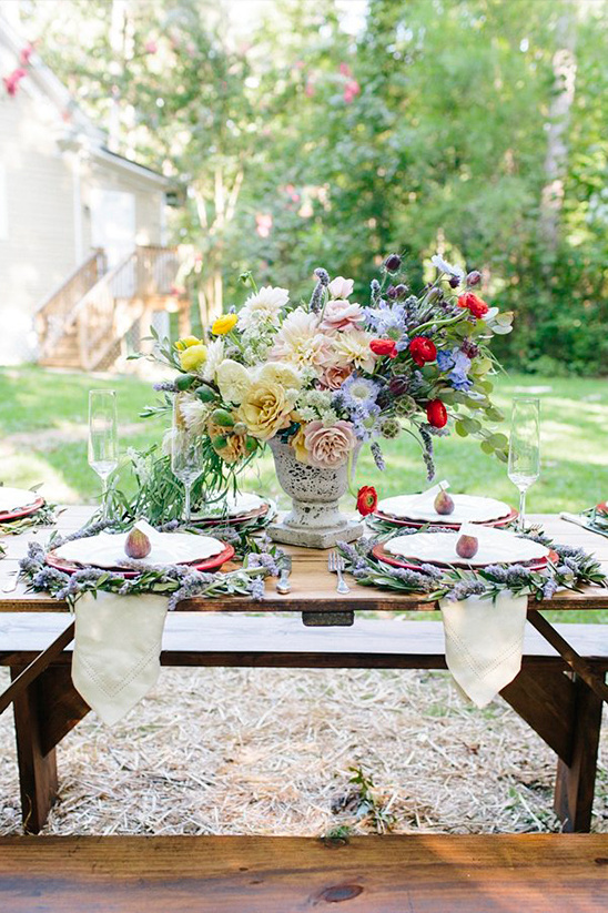 French tablescape idea