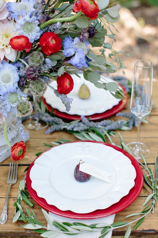 French wedding decor