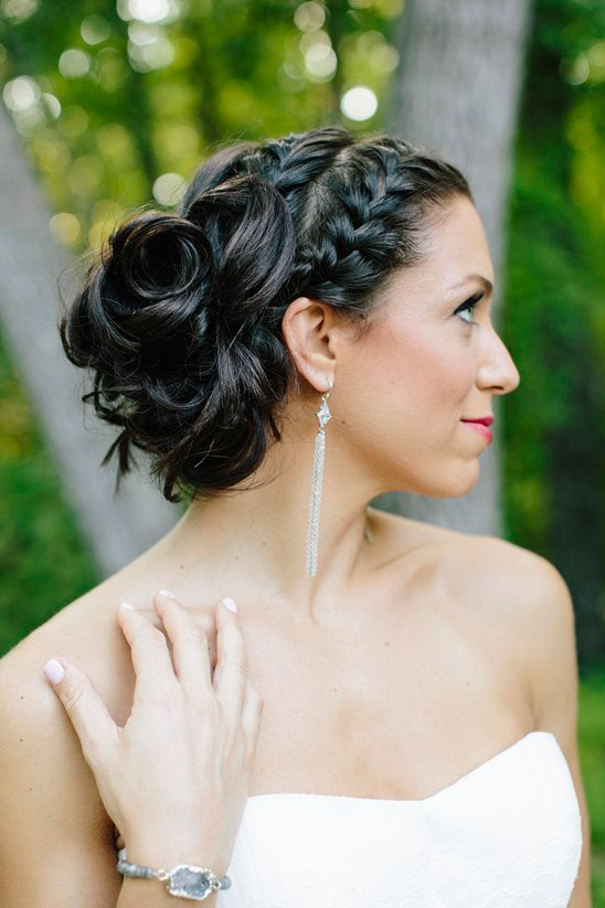 braided wedding hair idea