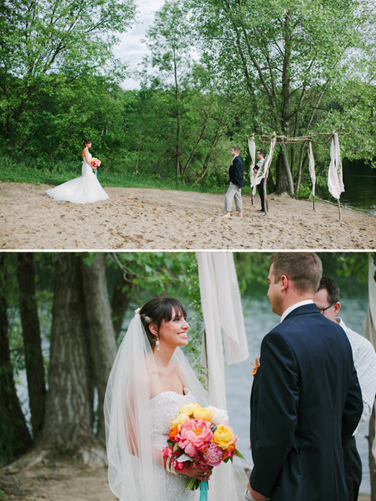 barefoot beach ceremony