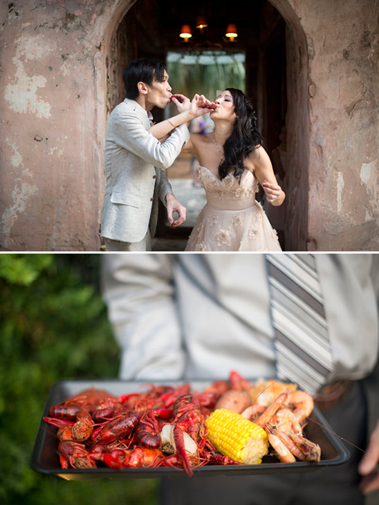 Have crawfish at your wedding