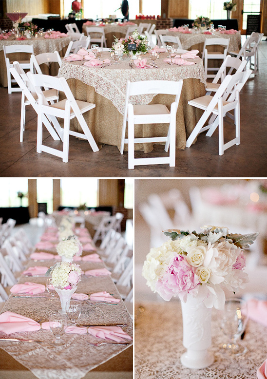milk glass wedding ideas
