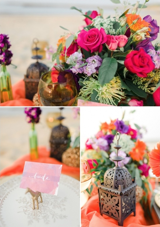 moroccan themed tablescape