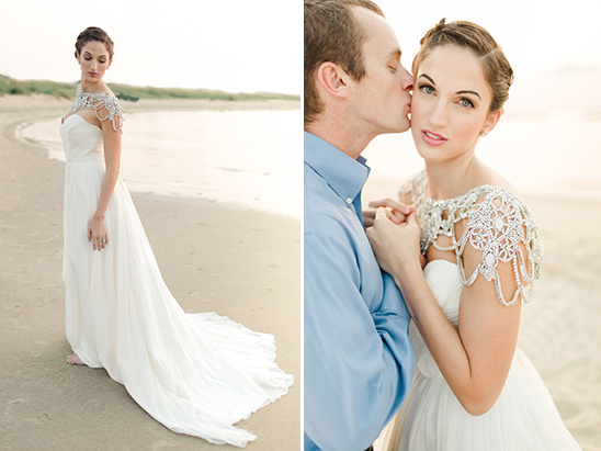 glamorous Hayley Paige wedding dress
