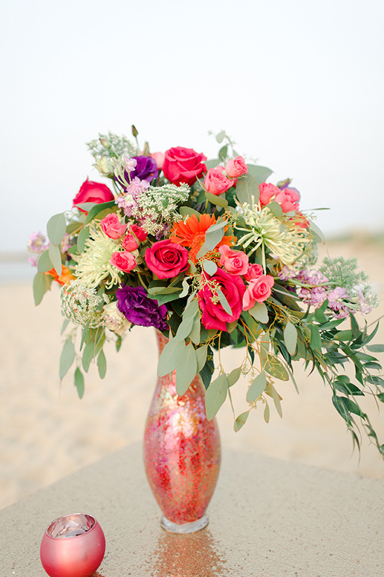colorful floral arrangement