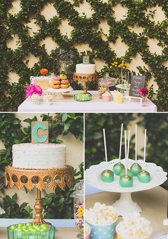 colorful dessert table ideas