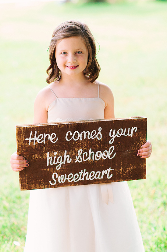here comes your high school sweetheart sign