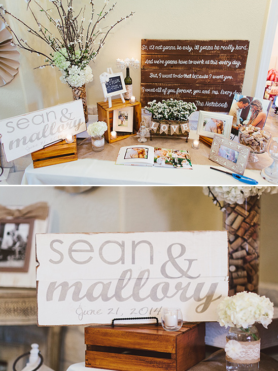 cute couples wedding sign