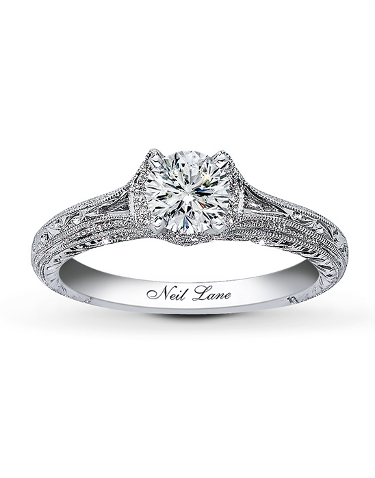 Neil Lane vintage inspired engagement ring