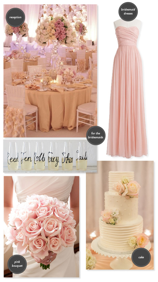 classic pink wedding ideas