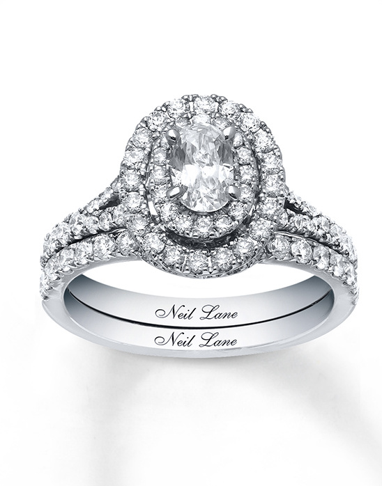 Neil Lane Halo Engagement Ring
