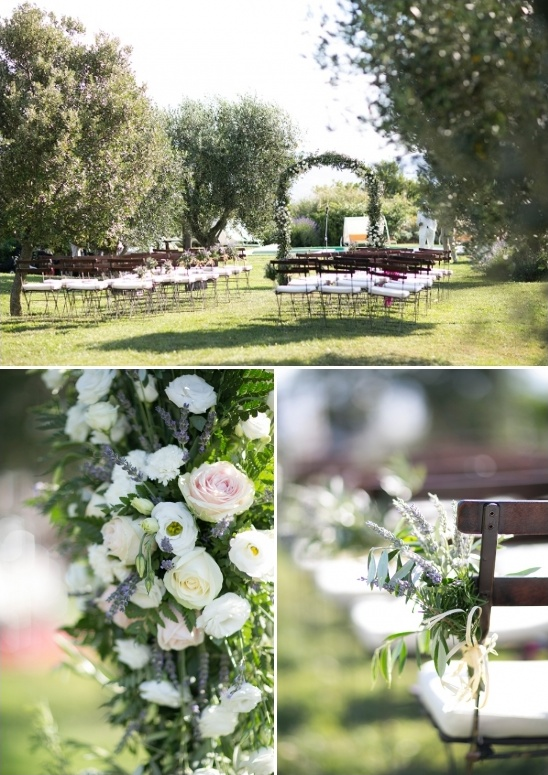 outdoor italian wedding