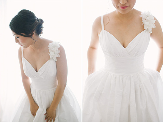 wedding dress with pockets from Davids Bridal