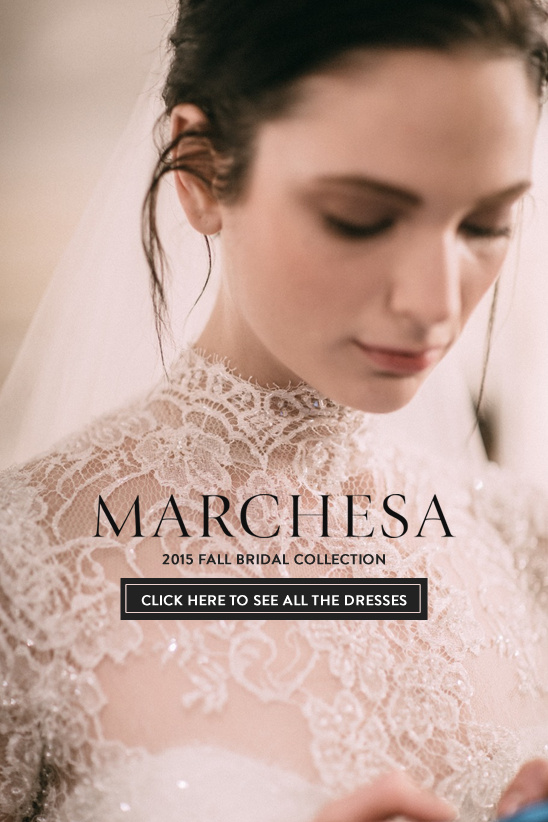 Marchesa 2015 Fall Collection