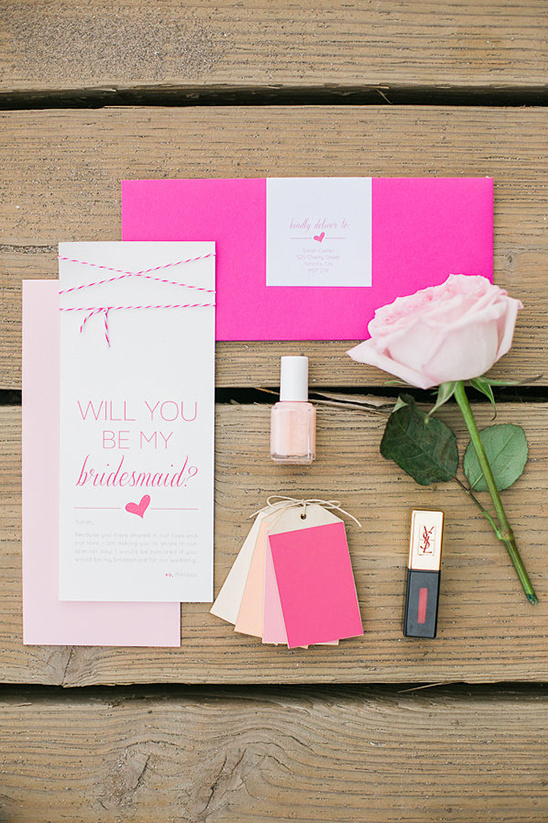 will you be my bridesmaid invite kit