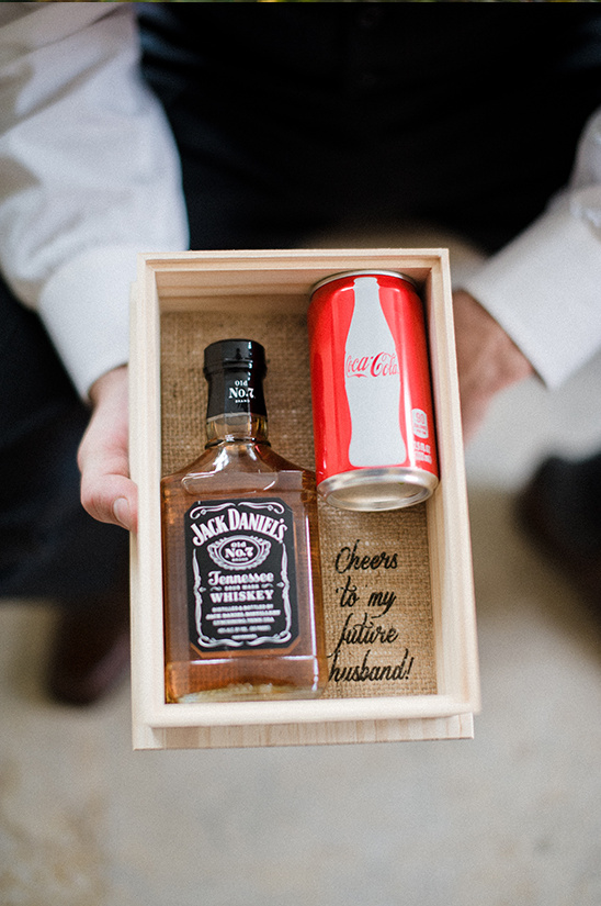 clever gift idea for the groom