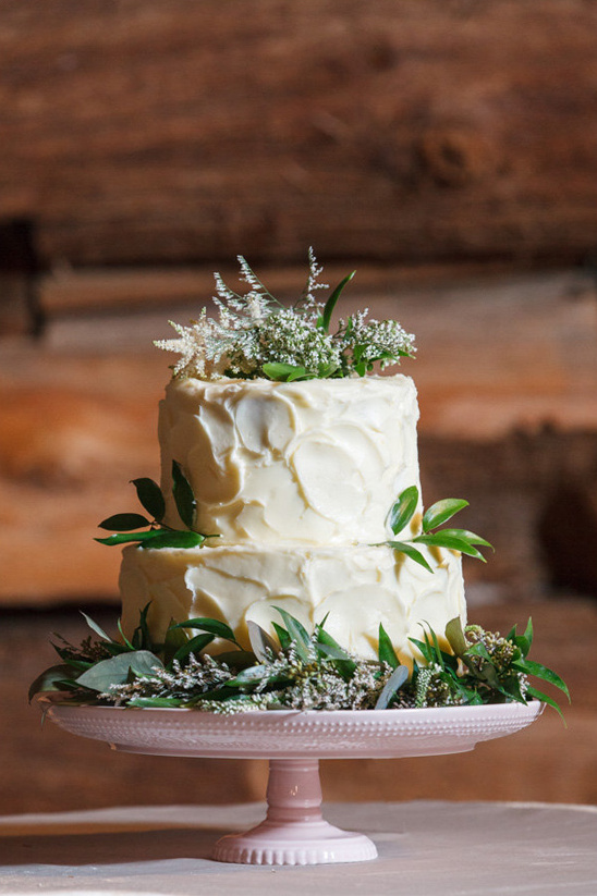 flower topped cake from ThimbleCakes