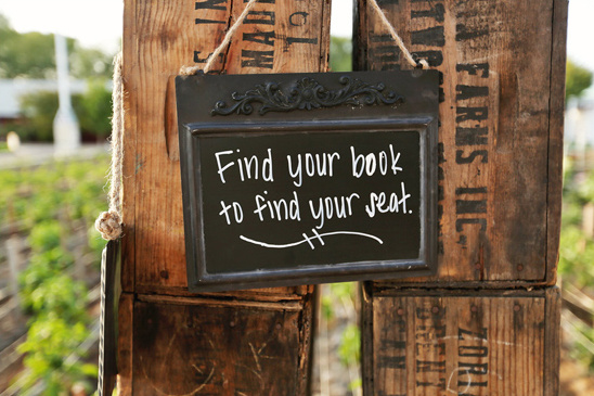 find your book to find your seat