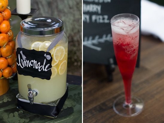 lemonade and signature cocktail