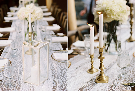 candles and lanterns decor