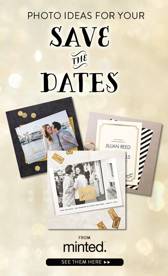 engagement save the date ideas