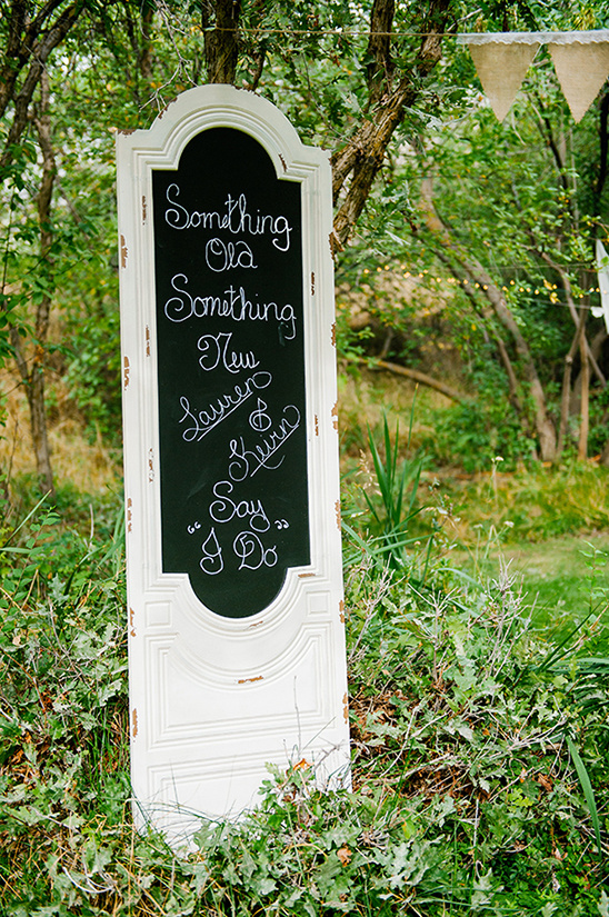 something old something new bridal shower sign