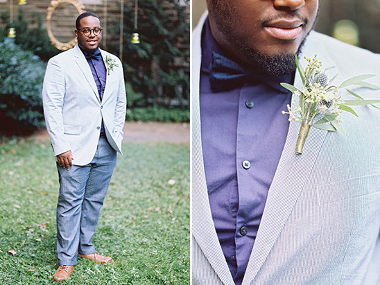 dapper groom look