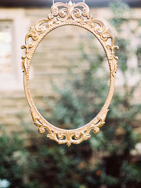 spray paint mirror gold