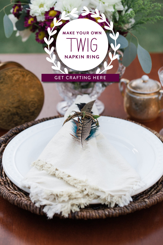 diy twig napkin ring