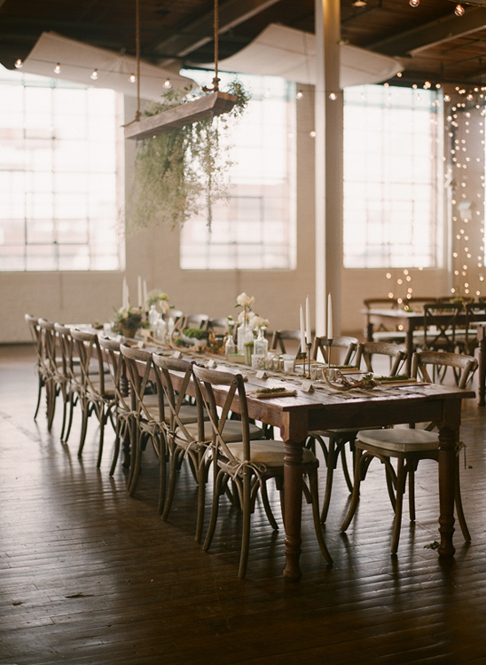 industrial warehouse reception
