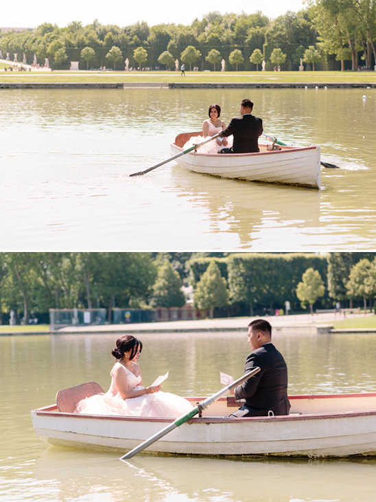 vow renewal on lake