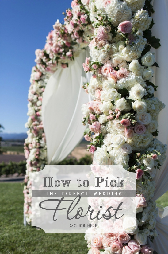 How to pick the perfect wedding florist