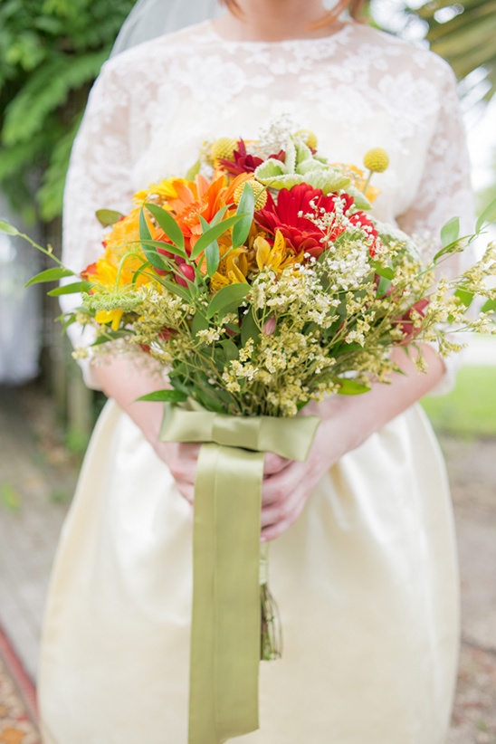 warm palette bouquet