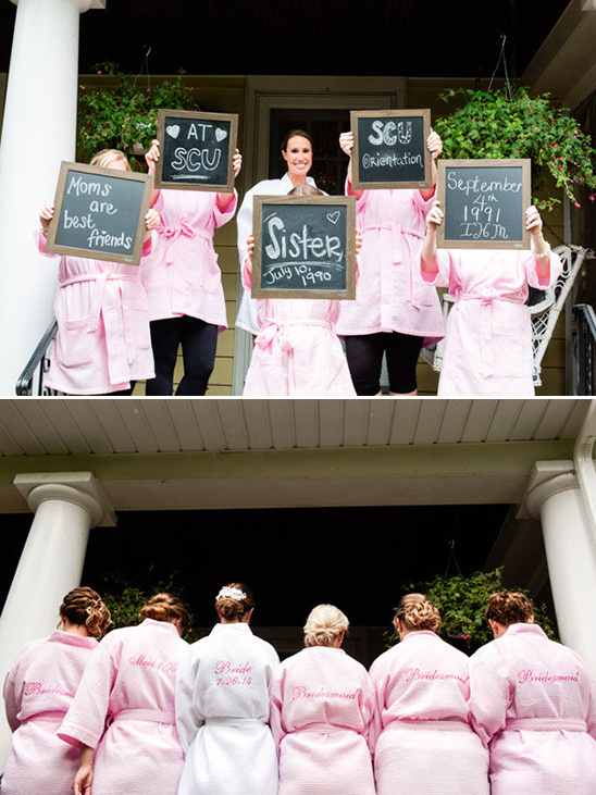how they met the bride signs