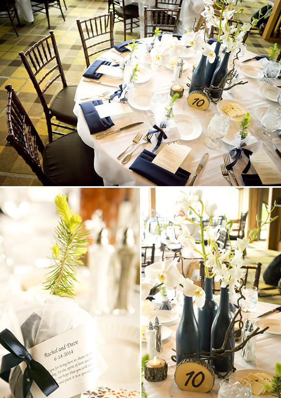 Navy Tahoe Wedding