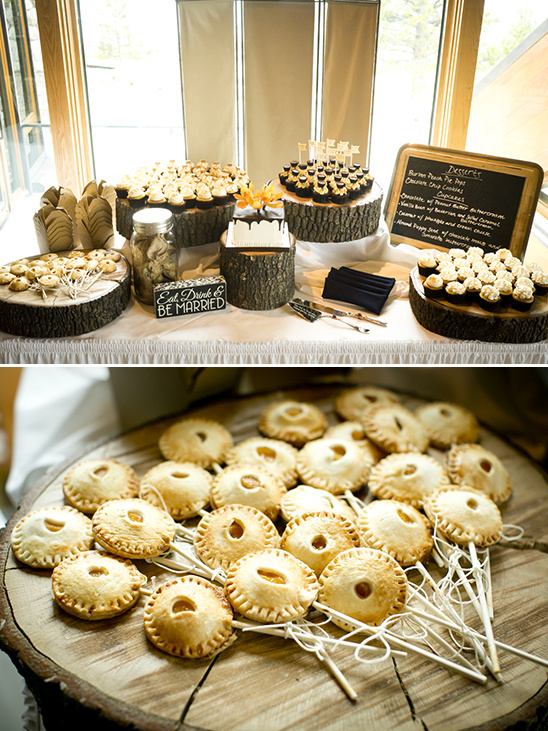 rustic gluten free dessert table