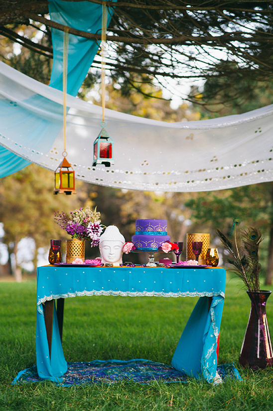 indian inspired reception ideas
