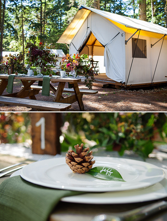 ... glamping wedding ideas