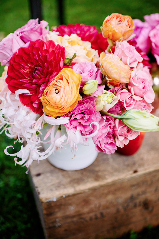 wedding flower color inspiration