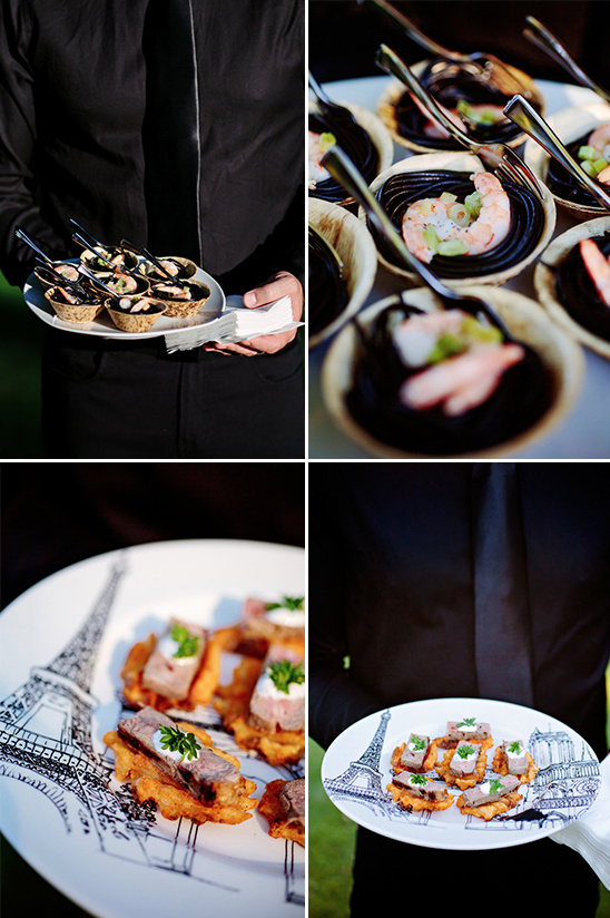 what to eat at a wedding