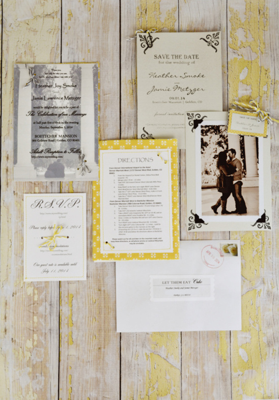 wedding stationery by Curly Girl Kitchen